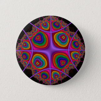 Electron Cloud 2 Inch Round Button
