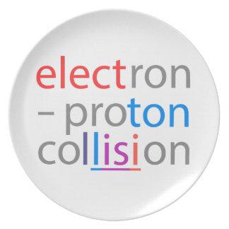 electron-proton plate
