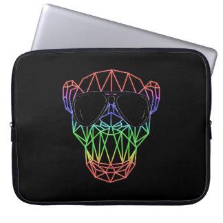 Electronic Dance Monkey EDM RAVE Festival Laptop Sleeve