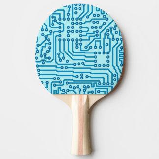 Electronic Digital Circuit Board Ping Pong Paddle
