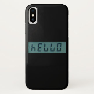Electronic Hello Display Message Case-Mate iPhone Case