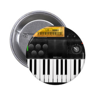 Electronic Keyboard 2 Inch Round Button