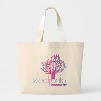 Electronic Low Country Large Tote Bag