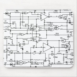 electronic project mouse pad