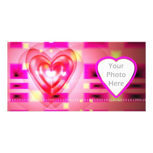 Electronic Valentine Picture Card