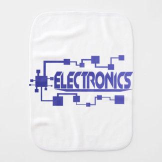 Electronics Burp Cloth