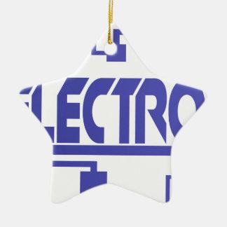 Electronics Ceramic Ornament