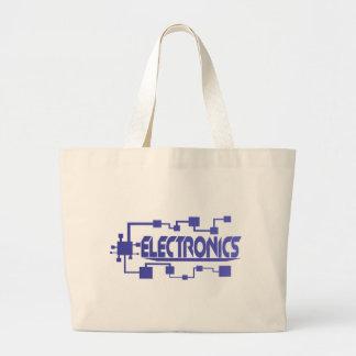 Electronics Large Tote Bag