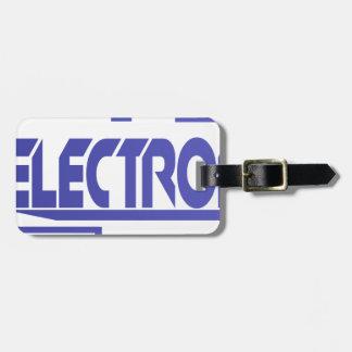 Electronics Luggage Tag