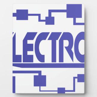 Electronics Plaque