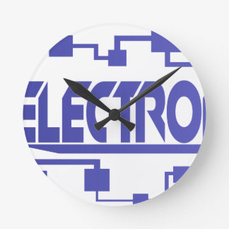 Electronics Round Clock