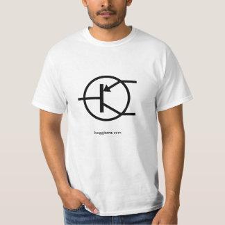 electronics-transistor-pnp, boggleme.com T-Shirt