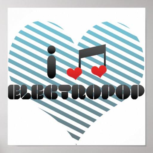 Electropop fan poster