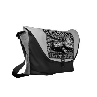 Elefant Outside Print Bag Courier Bag