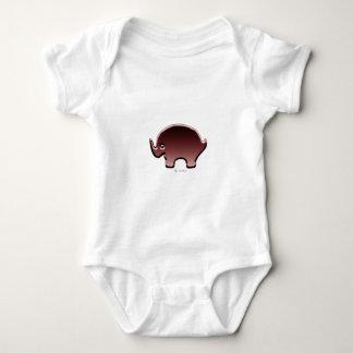Elefante magenta baby bodysuit