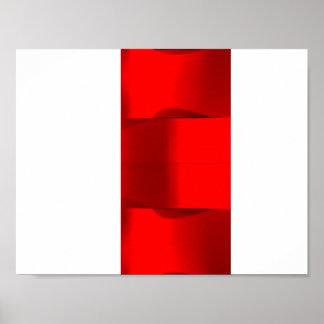 Elegance 3D Minimalism Poster