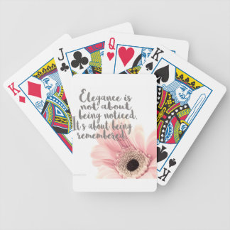 Elegance Bicycle Playing Cards
