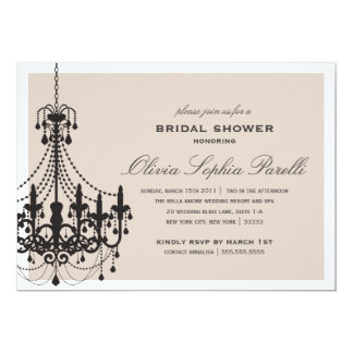 ELEGANCE | BRIDAL SHOWER INVITATION