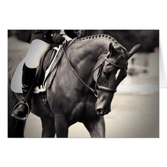 Elegance - Dressage Horse Card