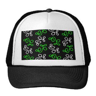 Elegance - green trucker hat