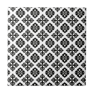 Elegance in Black & White Tile