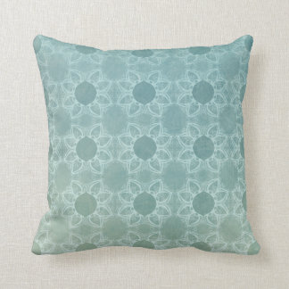 Elegance in Teal Throw Pillow