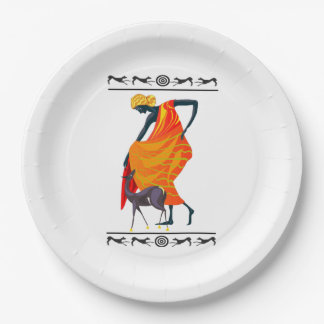 Elegance Kwanzaa Party Paper Plates