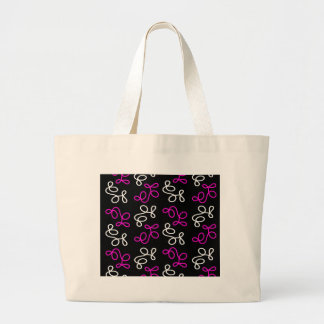 Elegance - magenta large tote bag