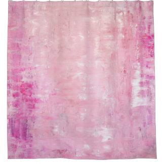 'Elegance' Pink Abstract Art