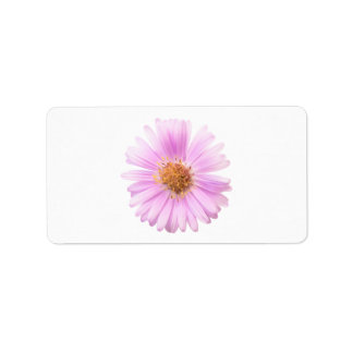 Elegance single flower label