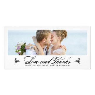 ELEGANCE | WEDDING THANK YOU PHOTO CARD