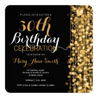 Elegant Birthday Invitations Announcements Zazzle Canada