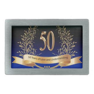 Elegant 50th Wedding Anniversary Gifts Belt Buckles