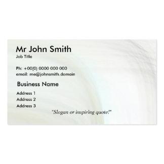 Elegant 7 pack of standard business cards