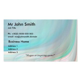 Elegant 9 pack of standard business cards