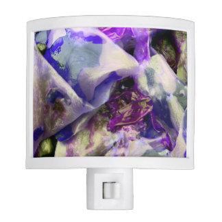Elegant Abstract Artful Purple Night Lite