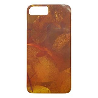 Elegant amber pattern iPhone 7 plus case