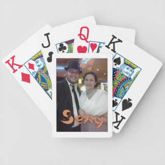 Elegant and Artsy Cute Couple Design Poker Deck