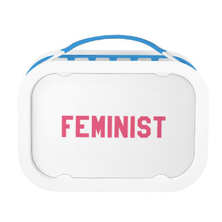 Elegant and Beautiful Typography || Feminist Lunch Box