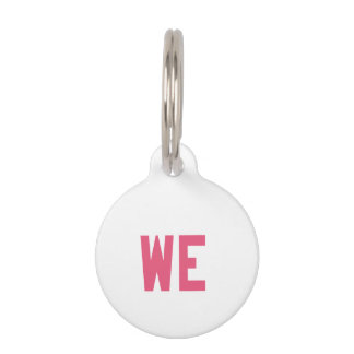 Elegant and Beautiful Typography || WE Pet Name Tag