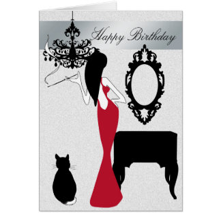 Elegant and Chic Birthday Card