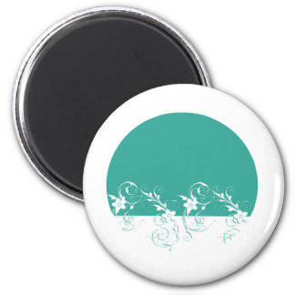 Elegant and Classy Wedding Design Magnet