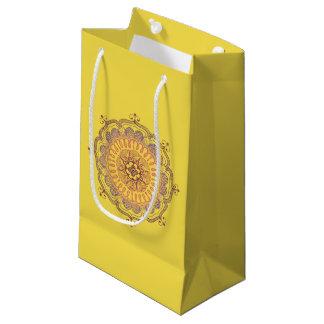 Elegant and Colorful Mandala Small Favor Bag