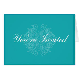 Elegant and Formal Invitation Card