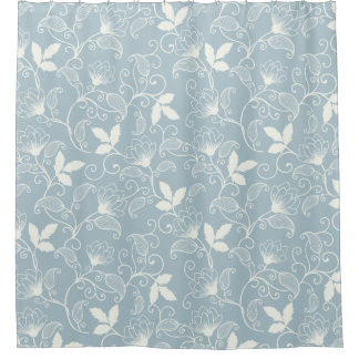 Elegant and Lovely Floral Pattern | Shower Curtain