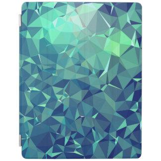 Elegant and Modern Geo Art - Magnificent Glacier iPad Cover
