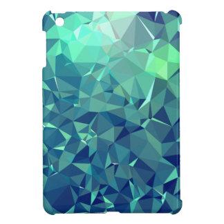 Elegant and Modern Geo Art - Magnificent Glacier iPad Mini Covers