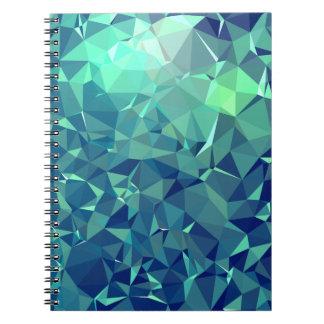 Elegant and Modern Geo Art - Magnificent Glacier Notebooks