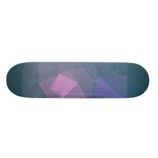 Elegant and Modern Geo Designs - Artic Bear Custom Skate Board