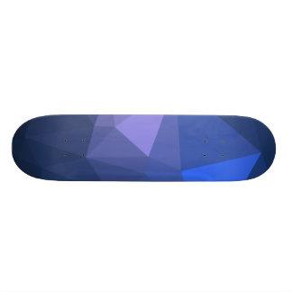 Elegant and Modern Geo Designs - Flying Dolphin Skateboard Deck